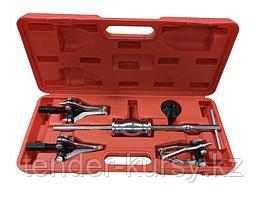 Forsage Комплект съемников внутренних и наружных подшипников и втулок (3-х захватный), 7 предметов в кейсе