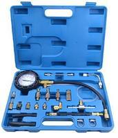 ROCKFORCE Набор для измерения давления в топливных системах (0-10 bar) 21 предмет в кейсе. ROCKFORCE