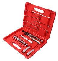 Partner Набор для обслуживания клапанов ДВС 8 предметов(щипцы для маслосъемных колпачков; магнитные щипцы для