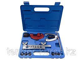 Forsage Набор для развольцовки трубок  10 предметов(4, 4.75, 6, 8, 10, 12, 14мм), в кейсе Forsage F-656M 7868