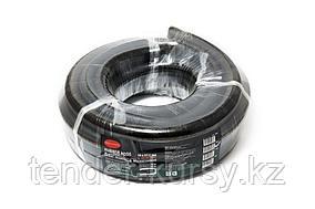 ROCKFORCE Шланг резиновый армированый бензо-маслостойкий 14х23ммх5м(повышенная гибкость и сопротивление к