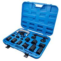 Partner Съемник сайлентблоков и подшипников с набором оправок 21 предмет, в кейсе Partner PA-04011 3688