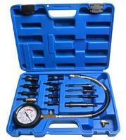 ROCKFORCE Тестер компрессии дизельного двигателя (0-70 bar) 15 предметов, в кейсе ROCKFORCE RF-913G1 15494