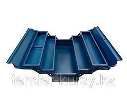 Partner Ящик инструментальный складной,5 отделений (металлический) Partner PA-122B 4573