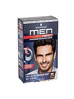 Гель-краска для волос Schwarzkopf Men Perfect №80 (чёрно-каштановый)