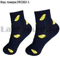 Носки женские хлопковые Авокадо 36-41 размер CHMD черный