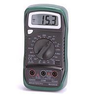 Мультиметр цифровой,с термопарой,обрезиненный корпус MASTECH MAS  838