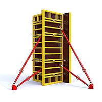 Опалубка колонн с подпорным раскосом(2 шт.) 20-70 см Н=3 м