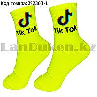 Носки женские хлопковые Tik Tok (Тик Ток) 36-41 размер Amigobs салатовый