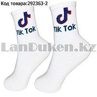 Носки женские хлопковые Tik Tok (Тик Ток) 36-41 размер Amigobs белые