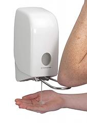 Aquarius диспенсер для жидкого мыла с локтевым нажимом