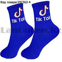 Носки женские хлопковые Tik Tok (Тик Ток) 36-41 размер Amigobs синие