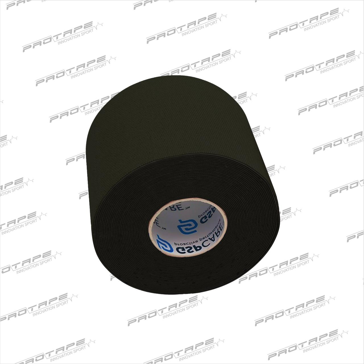Кинезиологическая лента GSP CARE Kinesiology Tape 5см х 5м черный