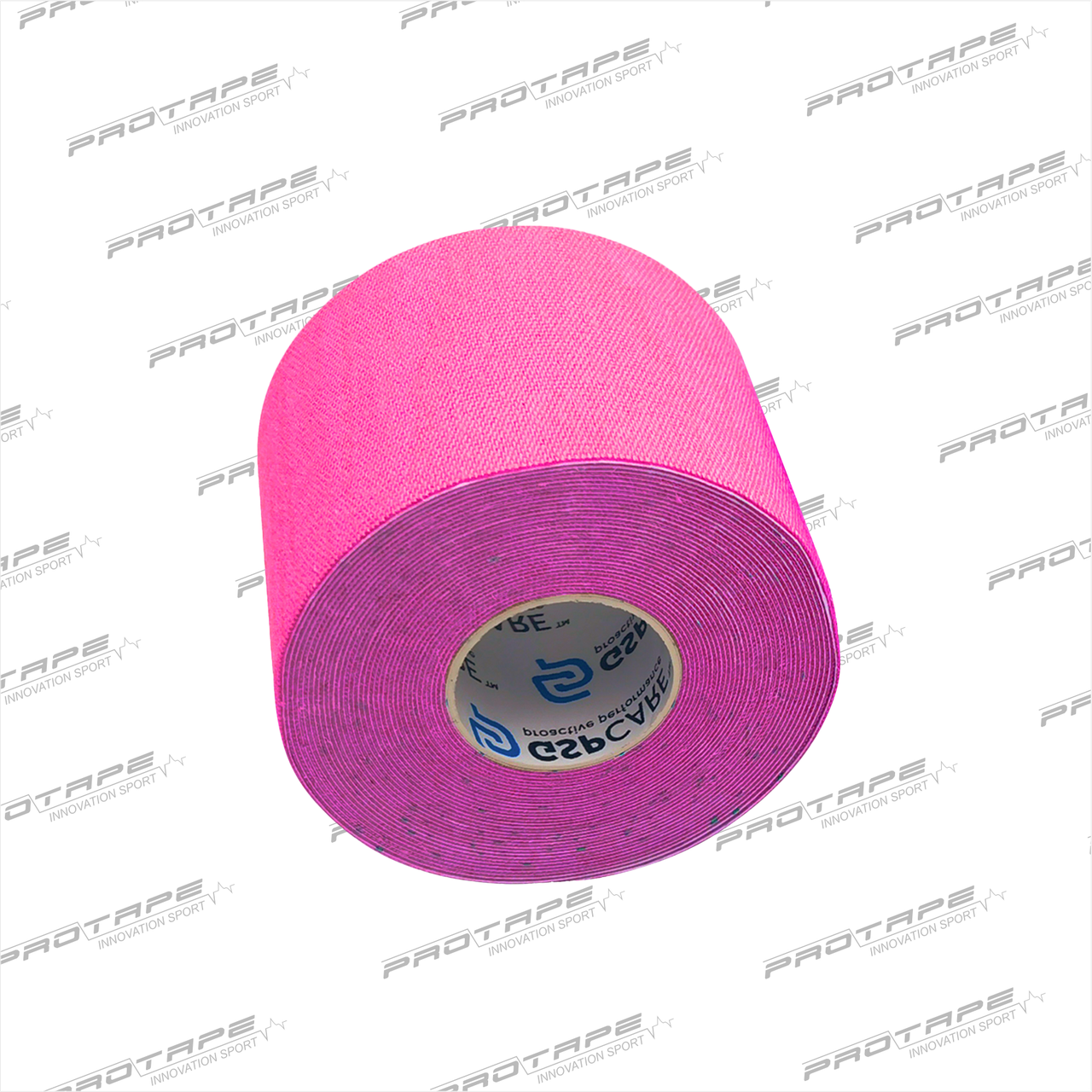 Кинезиологическая лента GSP CARE Kinesiology Tape 5см х 5м розовый