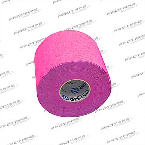 Кинезиологическая лента GSP CARE Kinesiology Tape 5см х 5м розовый, фото 2