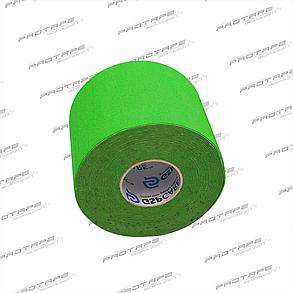 Кинезиологическая лента GSP CARE Kinesiology Tape 5см х 5м зеленый, фото 2