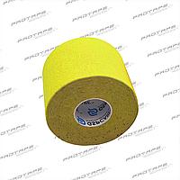 Кинезиологическая лента GSP CARE Kinesiology Tape 5см х 5м желтый