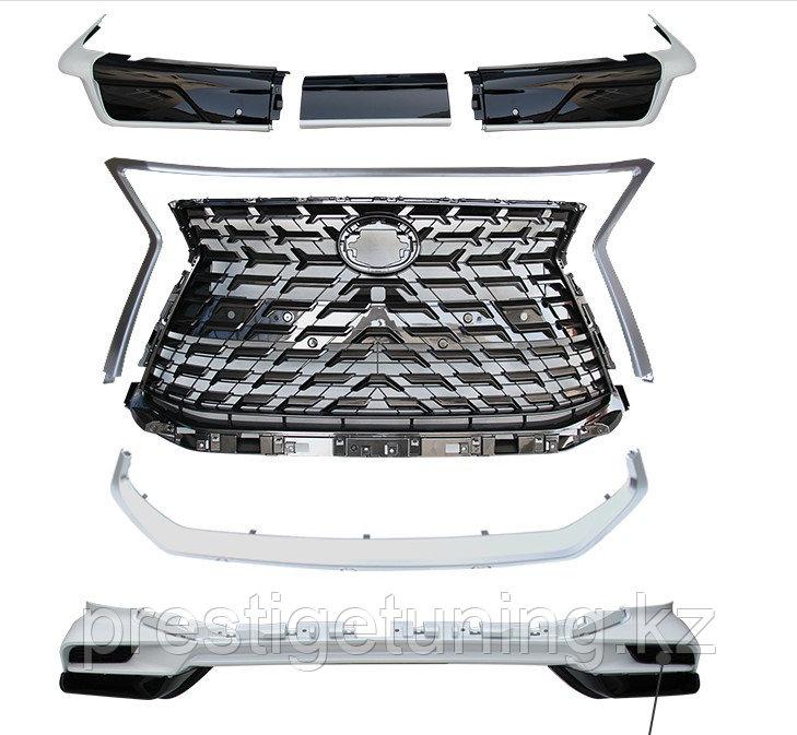 Обвес HERITAGE на Lexus LX570/450d 2016-2021 Дизайн 2021