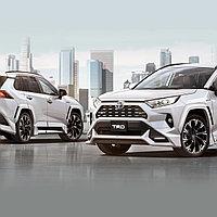 Аэродинамический обвес TRD на Toyota RAV4 2019-