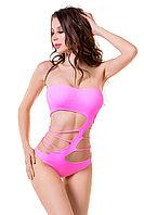 Боди-сетка Joli Arashi, розовый, L/XL