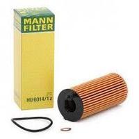 Фильтр масляный MANN-FILTER HU 6014/1 Z BMW X3 F25 2.0D 14>