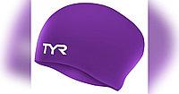 Шапочка для плавания (для длинных волос) TYR Long Hair Wrinkle Free Silicone Cap 510