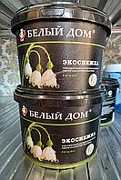 Акриловая краска Экоснежка  4  кг/ Белый Дом (эмульсия)