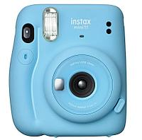 Моментальный фотоаппарат Fujifilm Instax mini 11 Sky Blue + две батарейки типа АА