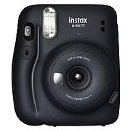Моментальный фотоаппарат Fujifilm Instax mini 11 Charcoal Gray + две батарейки типа АА