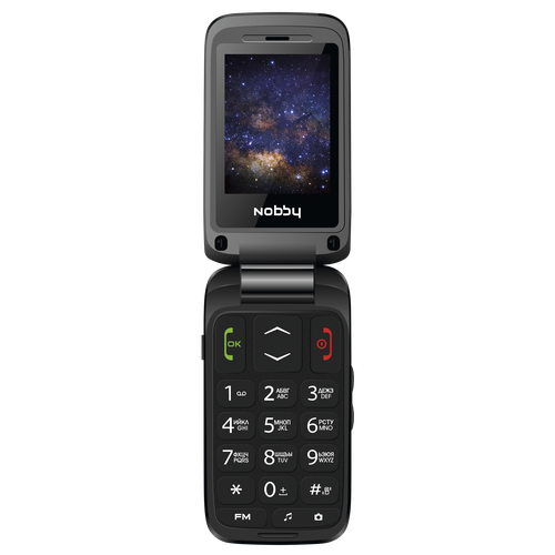 Мобильный телефон Nobby 240C темно-серый