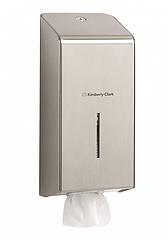 Диспенсер из нержавеющей стали для туалетной бумаги в пачках