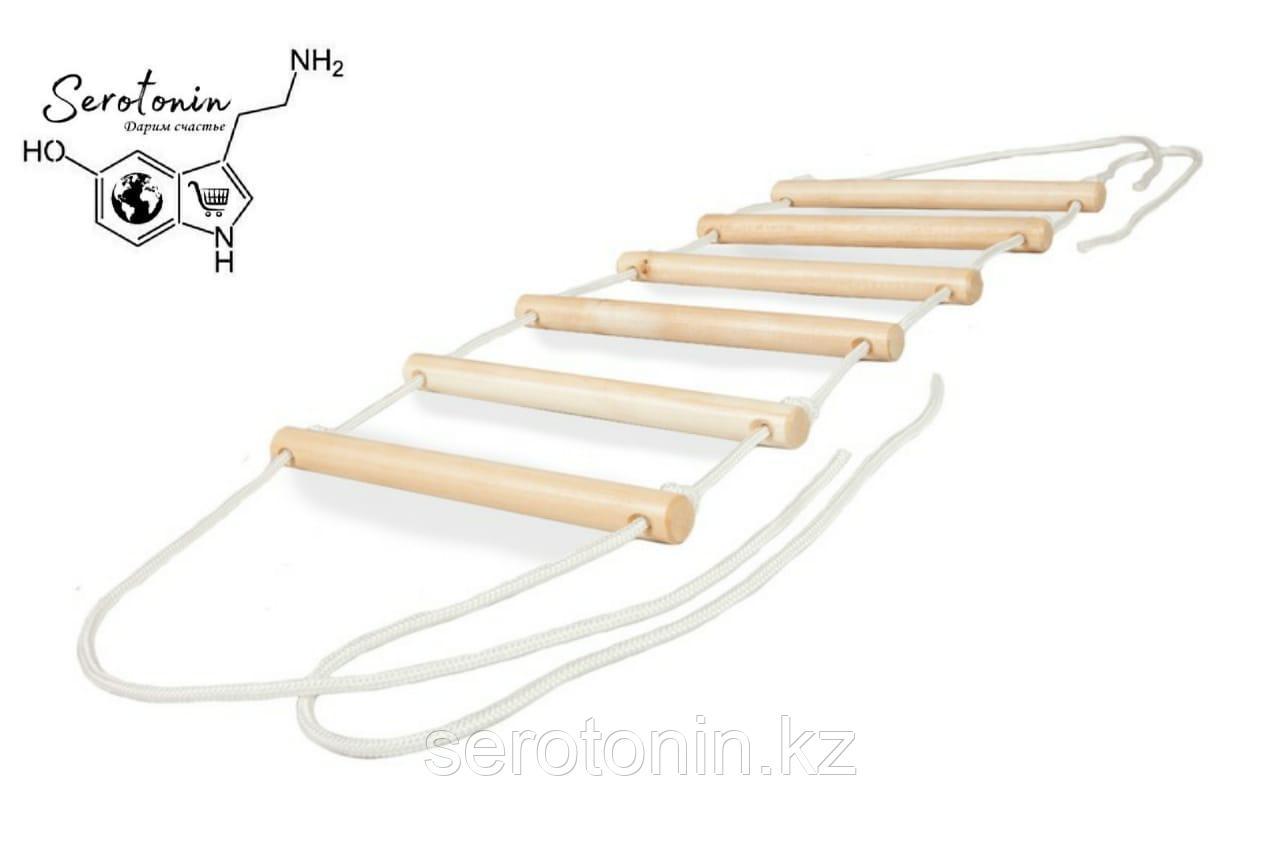 Веревочная лестница 6 ступенек