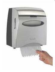 Хромированный диспенсер для рулонных бумажных полотенец