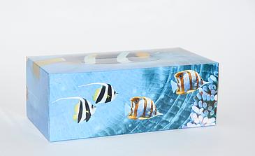 Косметические салфетки в коробке