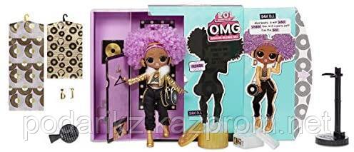 Кукла L.O.L. Surprise OMG 24K D.J. Fashion Doll with 20 Surprises