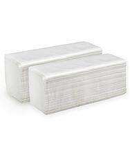 РК Полотенца бумажные в пачках Z-сложение.