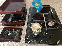 Настольный набор для руководителя PREMIUM мрамор, 8 предметов
