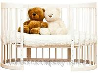 Детская  кровать Паулина -2 универсальная 8/1,(цвет ваниль,бежевый), фото 2