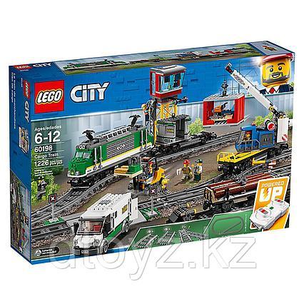 Lego City 60198 Товарный поезд