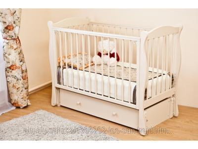 Детская кровать Уралочка,(слоновая кость)