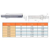 "Оправка R8 (7/16""- 20UNF) / В12 на внутренний конус сверлильного патрона (на расточ. и фрезер. станки)"