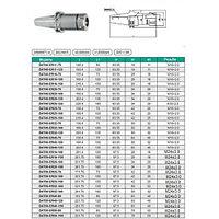 Патрон Цанговый с хвостовиком 7:24-40 ГОСТ 25827 исполнение 2 для станков с ЧПУ под цанги ЕR11 (DAT40-ER11-70)