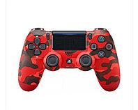 Геймпад беспроводной DualShock 4 Wireless Controller (v2) Camouflage Red (Красный камуфляж) (PS4), фото 1
