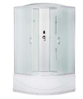ERLIT душевая кабина ER3509TP-C3 900*900*2150 высокий поддон, светлое стекло