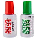 Корректирующая жидкость + разбавитель RETYPE (набор), 2х20 мл