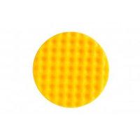 MIRKA Желтый поролоновый полировальный диск 150 мм, рельефный