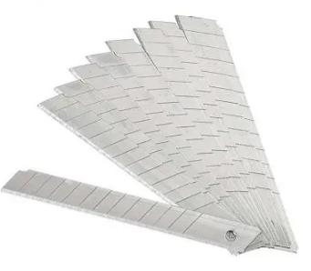 Лезвия запасные для ножей SILWERHOF, 9 мм (10 шт/упак)