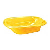 Ванночка со встроенной горкой 92 см, желтый (Бытпласт, Россия)