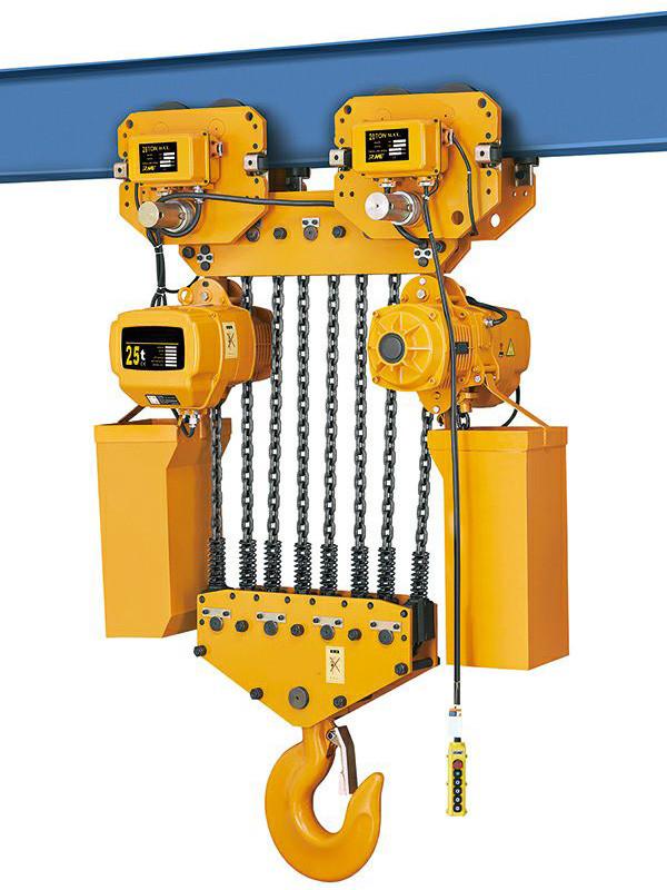 Таль электрическая цепная TOR ТЭЦП (HHBD10-25T) 25,0 т 18 м 380В