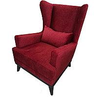 Кресло Вояж красный велюр